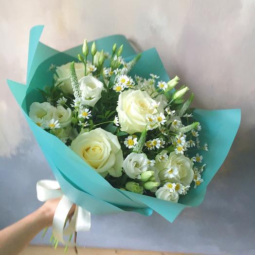 Оттенки белого: букеты цветов на заказ Flowwow