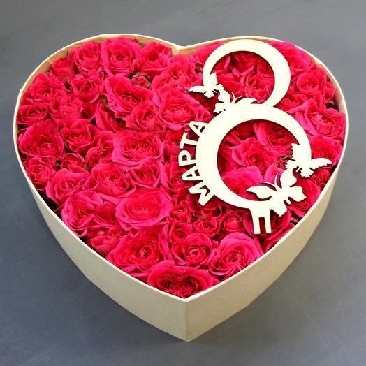 """""""8 Марта """": букеты цветов на заказ Flowwow"""