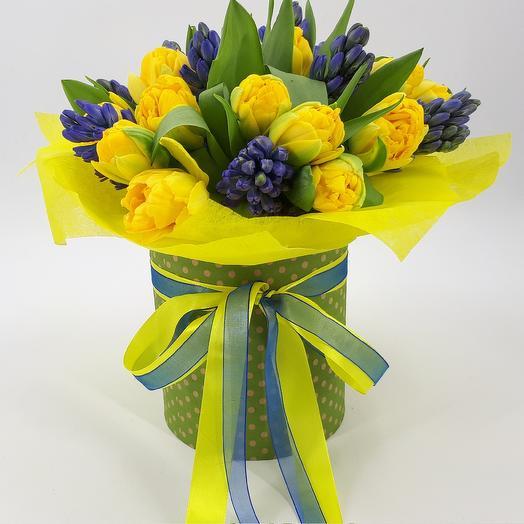 Весна в городе: букеты цветов на заказ Flowwow