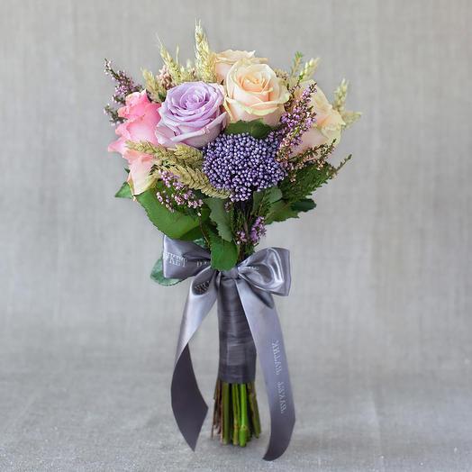 """Компактный букет """"Прованс"""": букеты цветов на заказ Flowwow"""