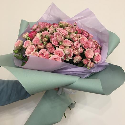Кустовой микс: букеты цветов на заказ Flowwow