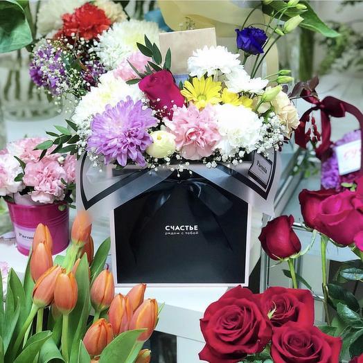 Коробка 19: букеты цветов на заказ Flowwow