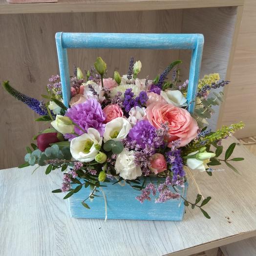 """Цветочный суднучок """"счастье"""": букеты цветов на заказ Flowwow"""