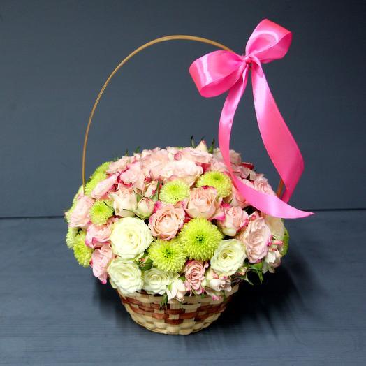 """Корзинка """"Нежность"""": букеты цветов на заказ Flowwow"""