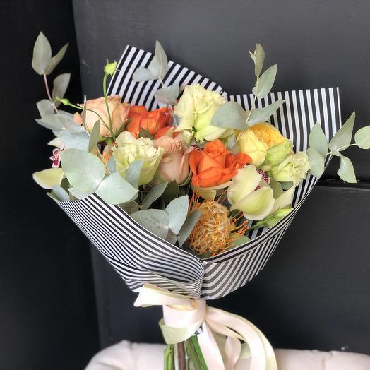 Настроение Tsvetkofflab: букеты цветов на заказ Flowwow