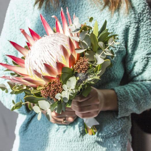 Нежная экзотика: букеты цветов на заказ Flowwow