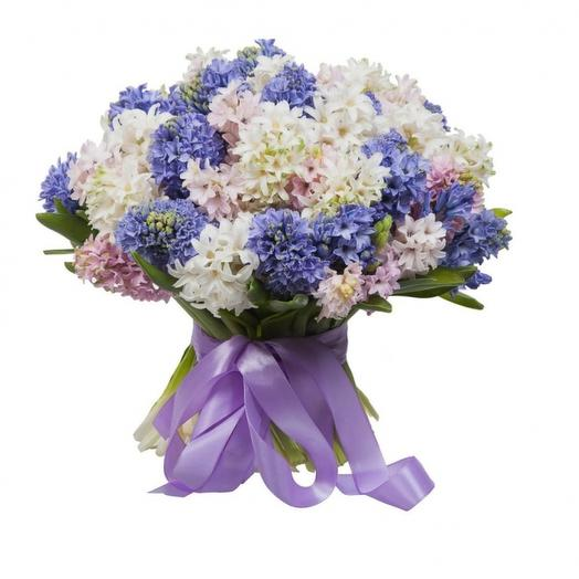 Гиацинт: букеты цветов на заказ Flowwow