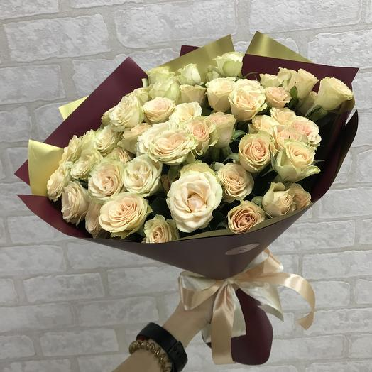 Любимые кустовые розы: букеты цветов на заказ Flowwow