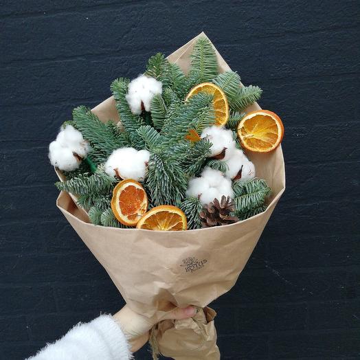 Новогодний 🎄: букеты цветов на заказ Flowwow