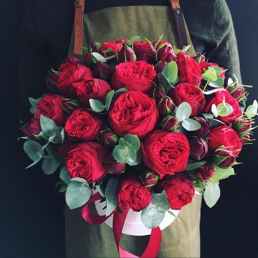 Леди ред: букеты цветов на заказ Flowwow