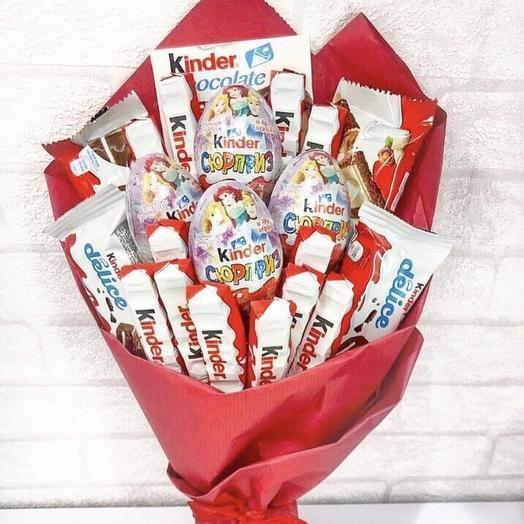 Букет киндер: букеты цветов на заказ Flowwow