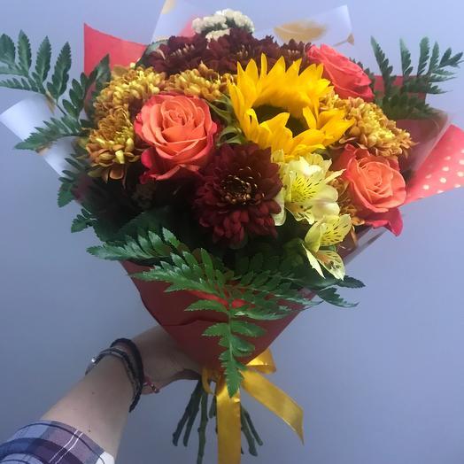 Огненный: букеты цветов на заказ Flowwow