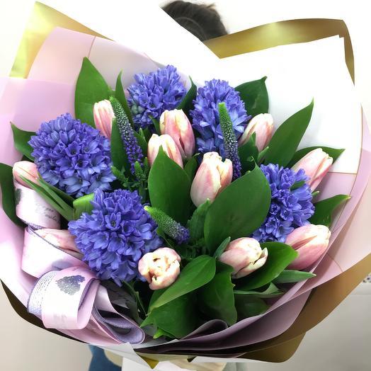 Ароматная весна💕️🌸: букеты цветов на заказ Flowwow