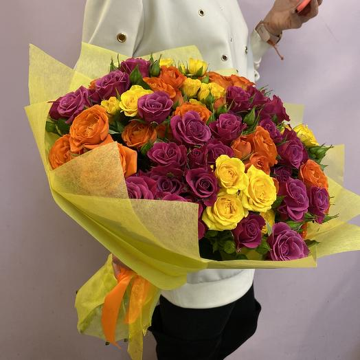 Яркое настроение: букеты цветов на заказ Flowwow