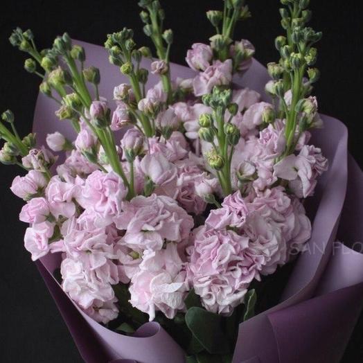 Букет Душистая Матиола: букеты цветов на заказ Flowwow