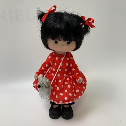 Кукла ручной работы «Амели»