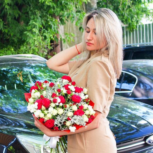 Пьяная вишня: букеты цветов на заказ Flowwow