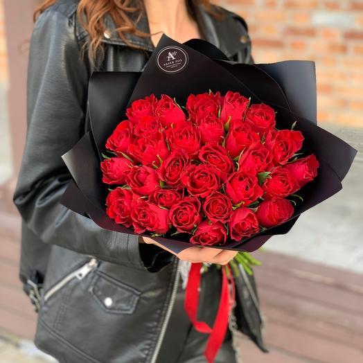 Bouquet of 29 roses Standart (Kenya)