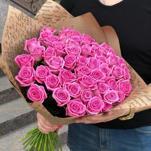 51 soft pink rose