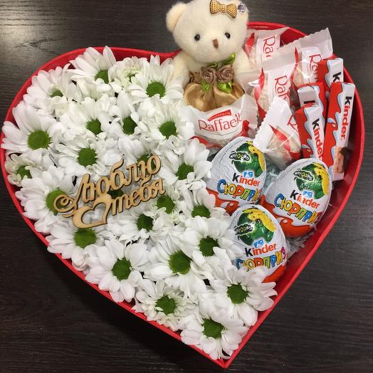Цветы в коробке 00654788
