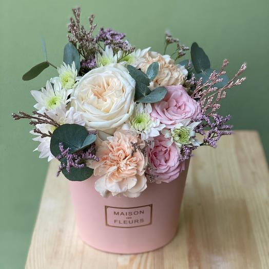 NEW! Зефирка персиковая с ароматной розой О Хара (Premium Collection)
