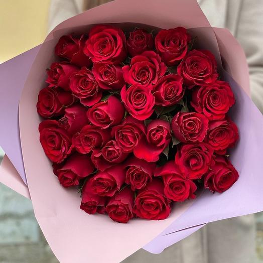 31 Кенийская красная роза