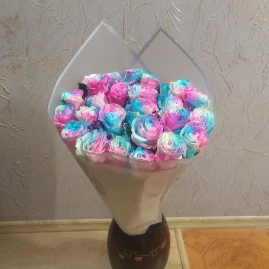 Краски нежности из 25шт роз
