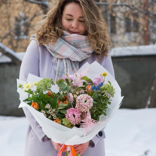 """Букет """"Сад бабочек"""" большой"""