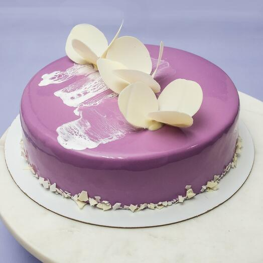 "Муссовый торт ""Лаванда"""