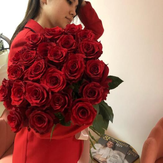 Импортная Роза 70 см