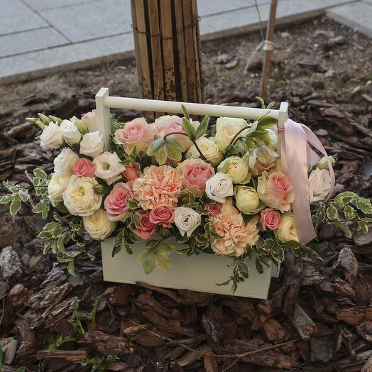 Ящик с цветами «Мисс Очарование»