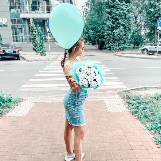 Букет + шарик
