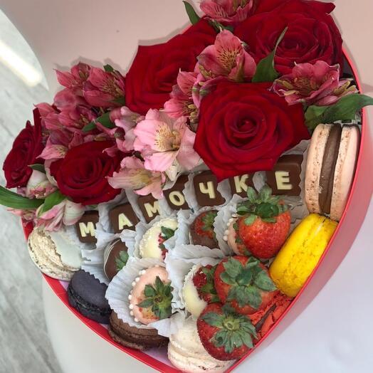 Цветы в коробке Для мамы 💓