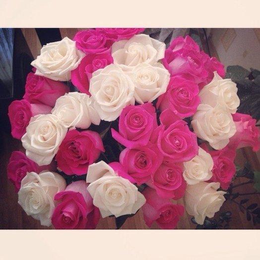 Букет Розы 31 шт: букеты цветов на заказ Flowwow