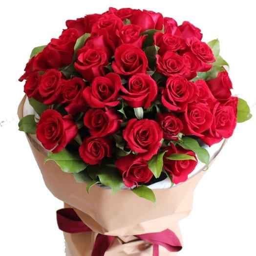 Red Roses: букеты цветов на заказ Flowwow