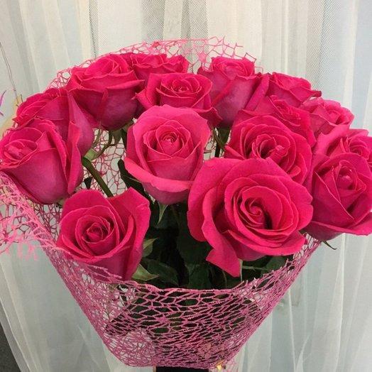 Букет из 15 эквадорских роз: букеты цветов на заказ Flowwow