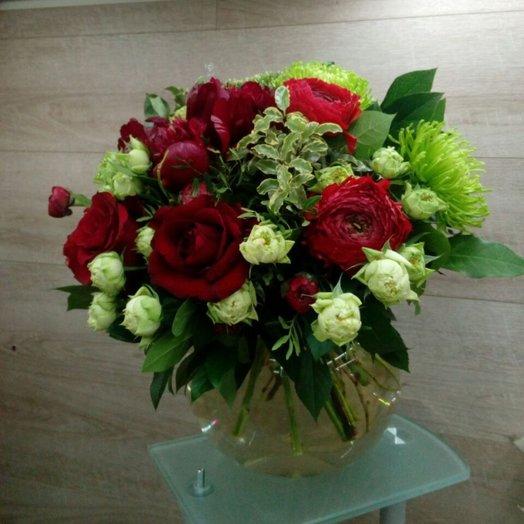 Вечер в Баку: букеты цветов на заказ Flowwow