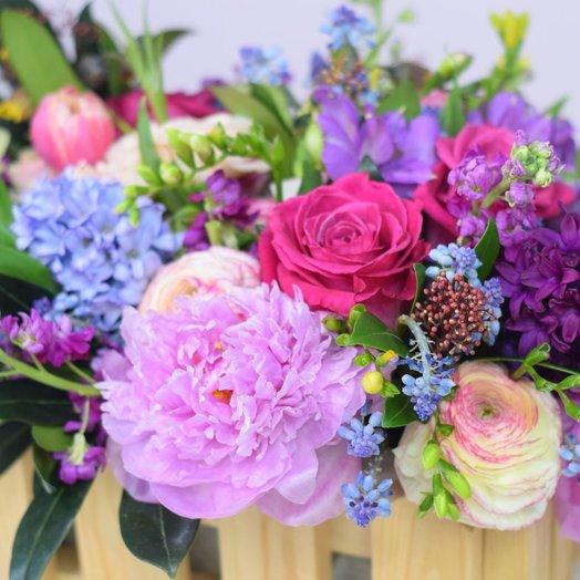 Пурпурные сны: букеты цветов на заказ Flowwow