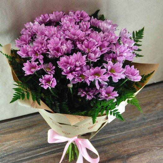 Букет хризантемы: букеты цветов на заказ Flowwow