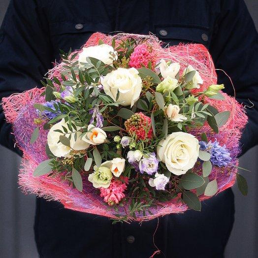 Цветочный букет Назад в будущее: букеты цветов на заказ Flowwow