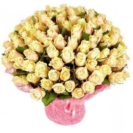 101 роза талея: букеты цветов на заказ Flowwow