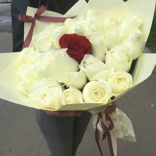 Kiss: букеты цветов на заказ Flowwow