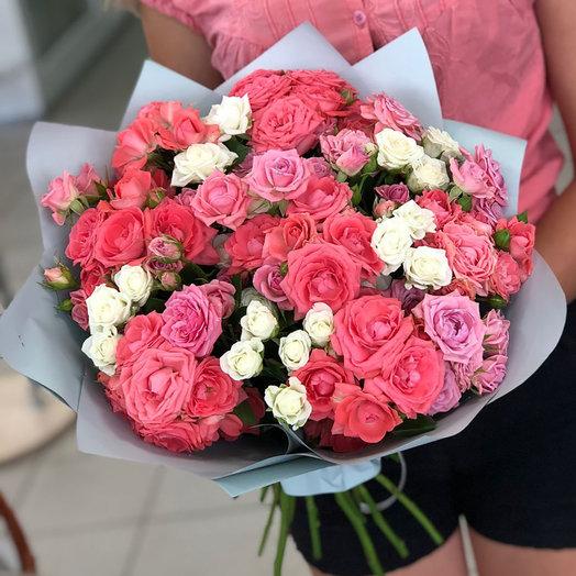 """Красивый букет """"Цветочный рай"""""""