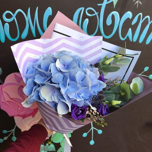Букет Мальвина: букеты цветов на заказ Flowwow