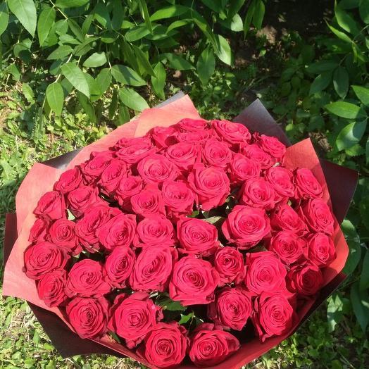 Красное чудо: букеты цветов на заказ Flowwow