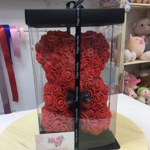 Мишки 3D: букеты цветов на заказ Flowwow