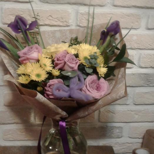 Нежная дымка: букеты цветов на заказ Flowwow