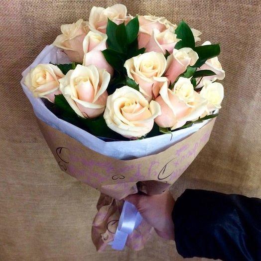 Ванильное счастье: букеты цветов на заказ Flowwow