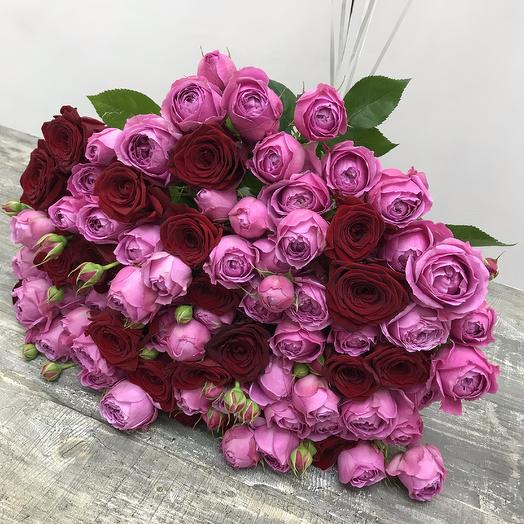 Я тебя люблю 💕: букеты цветов на заказ Flowwow