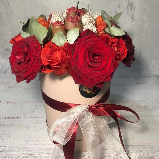 Для любимой ️: букеты цветов на заказ Flowwow